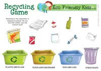 Recycle Your Rubbish Puzzle